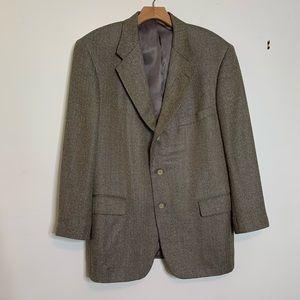 VTG Harrison Herringbone Silk/Wool Blend  Sz 44R